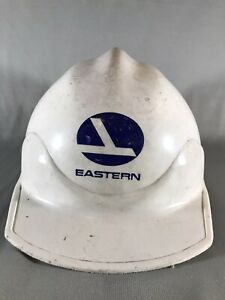 Vintage Eastern Airlines Bullard Hard Boiled Hard Hat With Liner Nice Rare used