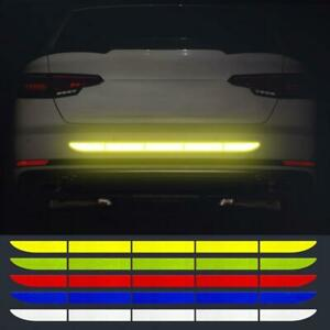 Car Auto Reflective Warn Strip Tape Bumper Safety Stickers Decal Accessories