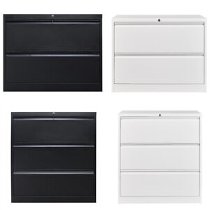 2 3 Drawers File Cabinet Metal Lateral Home Office Cabinet Lock Design Cabinet