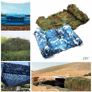2x3m Outdoor Camping Multifunction Double Layer Camouflage Net Bird Watching