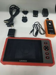 Launch X431 Crp909x Pro Auto Diagnostic Tool Obd2 Scanner Used
