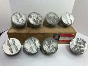 Nos Perfect Circle Engine Pistons 1527 For 1962 1969 Chevrolet Gmc 327 V8