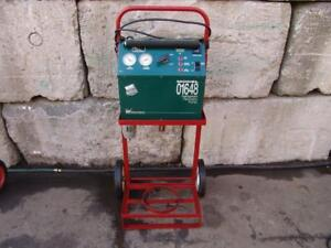White Industries K white Refrigerant Recovery System Model 01648 Works Fine