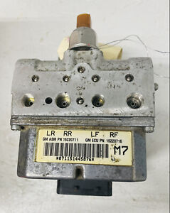 2005 C6 Corvette Ebcm 15220711 Electronic Brake Control Module Needs Repair Kit