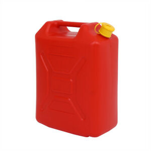 5l Can Gas Diesel Oil Petrol Fuel Spare For Car Motorcycle Suv Truck W Spout