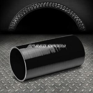 4 ply 4 Id 8 Long Turbo air Intake intercooler Piping Black Silicone Hose pipe