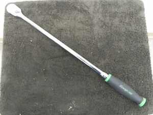 Snap On Fhll80 18 3 4 3 8 Drive Dual 80 Soft Grip Green Used