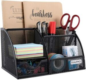 Office Supplies Mesh Desk Accessories Organizer Home Office Supplies With Drawer