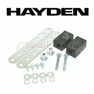 Hayden Engine Oil Cooler Mounting Kit For 2000 2005 Lincoln Ls Belts Jf