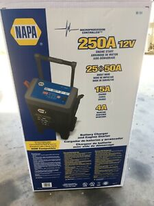 Napa 90 151 Wheel Charger Jump Starter Battery Charger 250 50 25 15 4 Amp