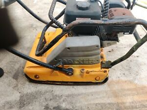 Wacker Neuson Wp1550aw Plate Compactor With Predator Engine Fires Right Up