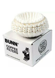 Bunn Flat Bottom Commercial Coffee Filters 12 cup 250 Case Pack New