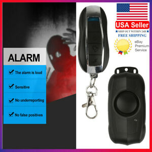 Loud 150db Wireless Anti theft Vibration Motorcycle Bike Security Alarm Remote S