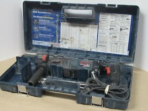 Bosch Bulldog Xtreme Max Rotary Hammer Drill 11255vsr Case And Bits Included