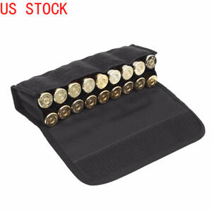 Tactical 18 Rounds Shotgun Shell Holder Hunting Molle 12 20 Gauge Ammo Pouch $13.22