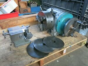 Large Cincinnati 12 Dividing Head W Buck Chuck Tailstock Milling Machine