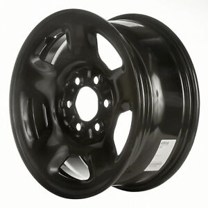 03518 Reconditioned Factory Oem Steel Wheel 17 X 7 5 Black Full Painted