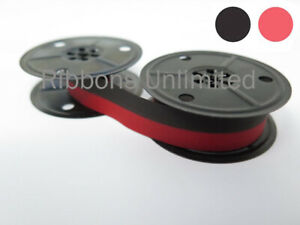 Compatible With Adler Tippa 1 Black red Silk On Metal Spools