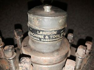 4 1 2 Lawson Mach Tool Square 4 Way Indexing Lathe Turret Tool Post Holder