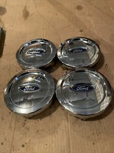 Oem Ford Expedition 6 Lug Chrome Center Caps Wheel Covers 6l14 1a096 bc Set Of 4