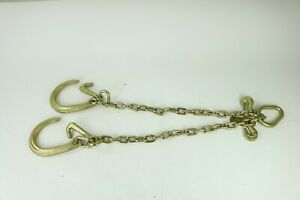 24 V bridle Chain With 8 Sport j And Mini j Hook Cluster