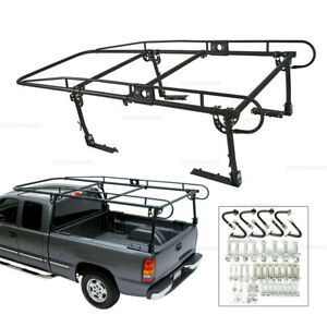 Pick Up Truck Ladder Lumber Rack Utility 1000 Lbs Fit For Chevrolet Colorado New