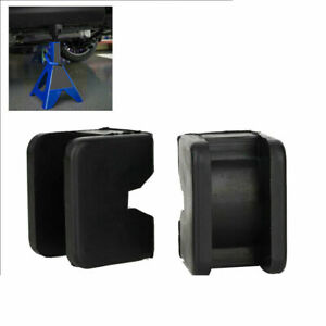 2 Pk Jack Pad Adapter For Jack Pad Universal Slotted Frame Rubber Stand 2 3 Ton