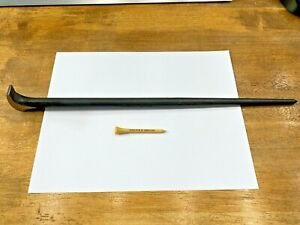 Snap On Tools Usa New Style 16 Long Black Rolling Head Lady Foot Pry Bar 1650
