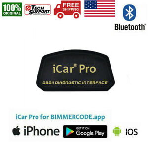 Vgate Icar Pro Bluetooth 4 0 Obd2 Adapter Bimmercode Bmw Coding For Ios Android