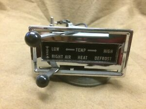 1955 1956 1957 Thunderbird Restored Orig Dash Mounted Heater Control Assembly