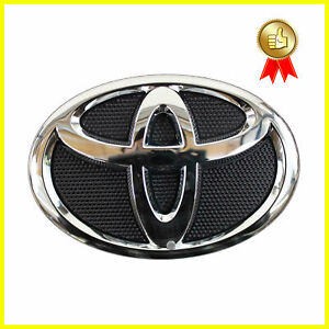New 2007 2009 Toyota Camry Hood Grill Black Chrome Grille Emblem 75311 06060