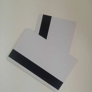 Mag Strip Inkjet Pvc Blank Id Cards Hico Matte Epson Canon Magnetic 10pcs Lot