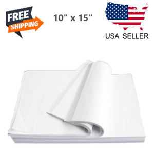 960 Pack 10 x15 White Tissue Paper Gift Wrapping Packing Wrapping Cushioning V