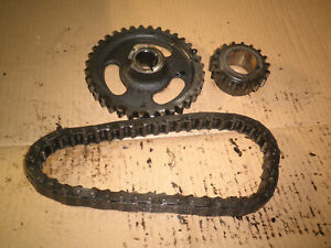 Willys Jeep Super Hurricane L226 Steel Timing Gears And Chain 1950 S