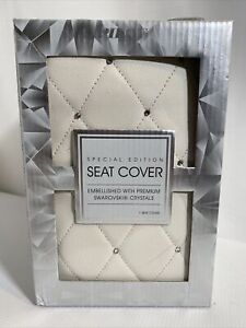 Special Edition Seat Cover By Pilot Mint With Swarovski Crystals New