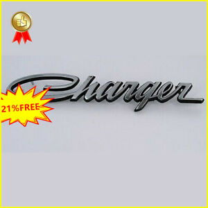 1pcs Vintage Dodge Charger Car Nameplate Badge Emblem Us