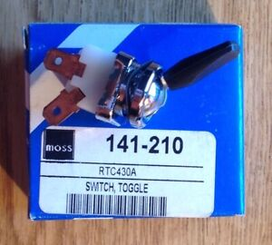 New Fan Toggle Switch For 1962 Thru 1967 Mgb Austin Healey Bj8 Overdrive Switch