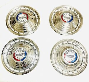 1963 Ford Galaxie 500 Hubcaps Full Set