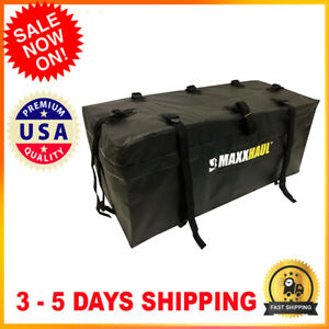 Hitch Mount Water Resistant Cargo Carrier Bag 47x 20x 20 For Rv Trailer Camper