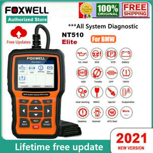 Foxwell Nt510 Elite For Vw Audi All System Diagnostic Tool Scanner Code Reader