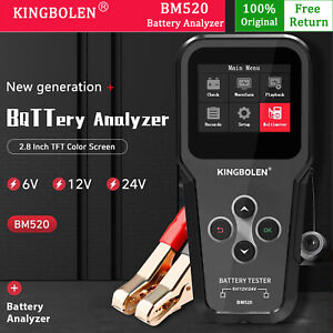 Battery Analyzer Reversible Access Clips Voltage Check Charging Test Tools