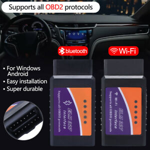 Mini Wifi Obd2 Obdii Car Diagnostic Scanner Elm327 Code Reader For Ios Android