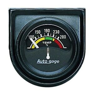 Autometer 2355 Auto Gage Air core Water Temperature Gauge