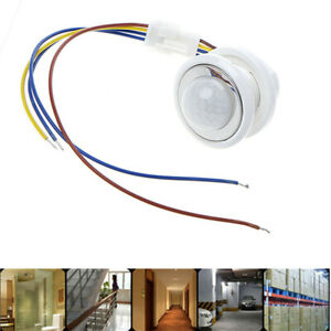 Led Light Motion Sensor Switch Time Delay Adjustable Automatic Pir Infrared