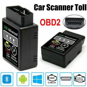 Elm327 V2 1 Obd2 Car Mini Bluetooth Diagnostic Interface Scanner Reader Tool