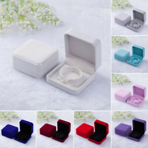 Decoration Jewelry Box Ring Flannelette Home Gifts Storage Case Bracelet
