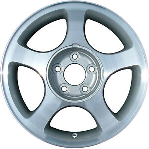 03375 Refinished Ford Mustang 1999 2001 16 In Wheel 6 3 4 Center Notch No Ledge