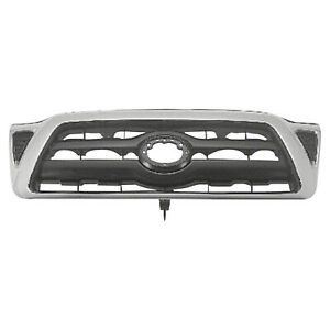 To1200268 New Grille Fits 2005 2010 Toyota Tacoma 2wd