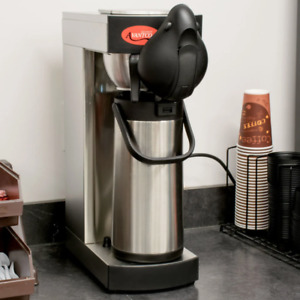 55 Cup Commercial Pourover Airpot Coffee Brewer Maker Restaurant Nsf 120v 1650w