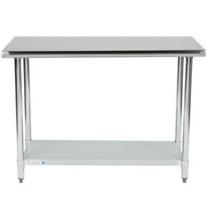 Commercial Kitchen 24 X 48 Stainless Steel Work Food Prep Table Nsf Counter